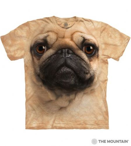 Pug Face T-shirt | The Mountain®